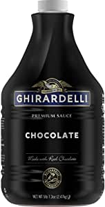 Ghirardelli Chocolate Flavored Sauce, Chocolate, 87.3-Ounce Packages