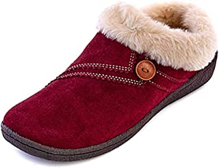 Clarks 女式 Rebecca 冬季拖鞋