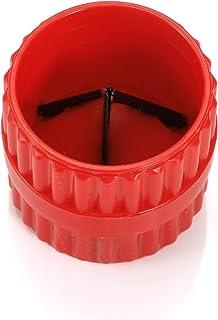 BlueCatELE 内外管和管道去毛刺铰刀 3/16 英寸至 1-1/2 英寸 2 件装