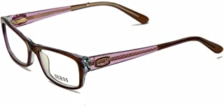 GUESS 眼镜 GU 2373 棕色紫色 51 毫米