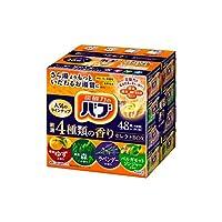 KAO 花王 Bab 盒裝碳酸浴鹽拼裝組合,嚴選4種香型,48塊【大容量】