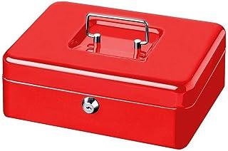 BURG-WÄCHTER 钱盒 MONEY 5015 钢板 红色 包括 2 把钥匙和硬币插件
