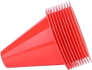awstroe PE 材料足球标记 足球锥 牢固的明亮颜色训练锥体 男孩足球