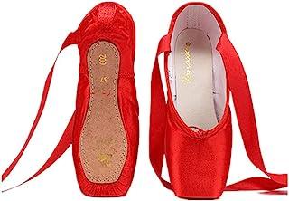 Nexete 专业 Vanassa 芭蕾舞尖鞋适合女孩和女士