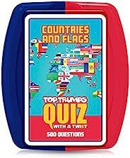 Top Trumps 036450 国家和国旗问答游戏