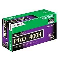 Fujifilm 16326119 Fujicolor Pro 120, 400H 彩色负膜 ISO 40016326119 Pro Pack 绿色/白色/紫色