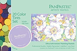 Panpastel 超柔软艺术家粉彩色套装