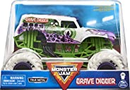 Monster Jam 官方墓地挖掘机怪兽卡车,收藏压铸汽车,比例 1:24