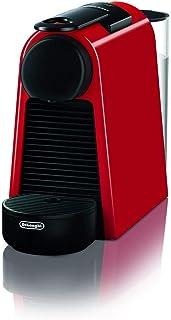 De'Longhi 德龙 Nespresso Essenza Mini EN 85.R 胶囊咖啡机入门套装 带有不同口味的胶囊,19bar泵压,空间集约型,红色