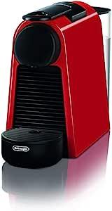 De'Longhi 德龙 Nespresso Essenza Mini EN 85.R 胶囊咖啡机,19bar泵压,空间集约型,带不同口味胶囊的入门装,红色