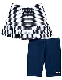 Juicy Couture 橘滋 女童短裤和短裙 2 件套