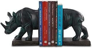 SPI Home Rhinoceros Bookends Pair - 适合任何家庭或书架