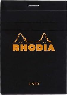 RHODIA 罗地亚 法国 经典上翻笔记本 黑色 N12横线 126009