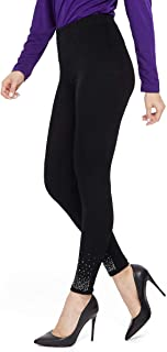 Jostar 女式 AY 修身裤水钻 S 码 黑色