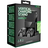 Venom Xbox One 垂直充电支架和可充电电池双包装(Xbox One) 黑色