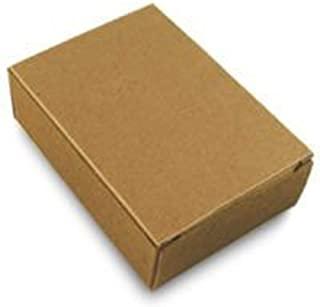 CYP 牛皮纸无窗肥皂盒 - 自制肥皂包装 - 肥皂制作用品 - * 再生材料 - 美国制造! - 50 包