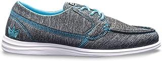 Brunswick 女士 Karma 运动保龄球鞋 - 灰色/蓝色