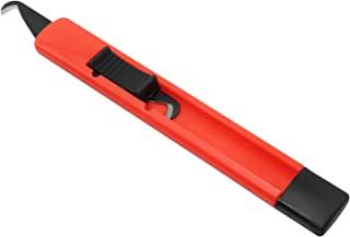 ZRM&E 高尔夫俱乐部握柄刀钩刀片实用刀高尔夫俱乐部握把修复钩刀高尔夫配件,橙色