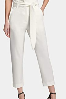 DKNY 高腰礼服长裤,前系带