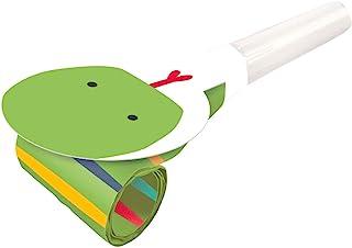 Amscan 9909357 – Get Wild 空气碗 8 件 30 厘米 塑料 / 纸 儿童生日 声音机 小鼓手 小鼓手