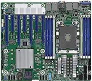 AsRock Rack CEB 服务器主板单插槽 P LGA3647 和英特尔至强 W 处理器 Intel C621 型号 WC621D8A-2T