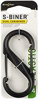 Nite Ize S-Biner Plastic Size-4 Double Gated Carabiner