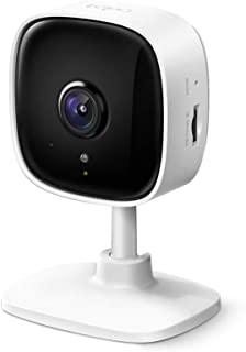 TP-Link WiFi 相机 micro SD对应 1080p 夜视 运动检测 双向通话 Tapo C100