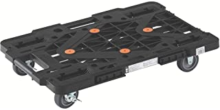 TRUSCO 连接树脂平台车 公路车 黑色 615x415 网状类型 MPK600SBK