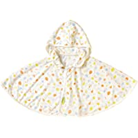 Hoppetta 防紫外线 婴儿斗篷 白色 ~100cm 19111009
