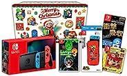 任天堂 Nintendo Switch 主體 霓虹藍/霓虹紅+飾品套裝+贈品