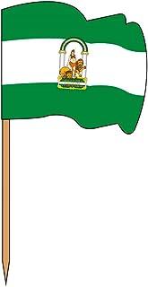 Garcia de Pou 旗帜插画,安达卢西亚,盒子,木质,多种,4 x 2.5 x 6.5 cm