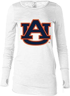 官方 NCAA venley UNIVERSITY OF 迈阿密飓风 THE U 手杖女式长袖 t 恤 thumbholes