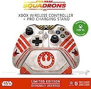 Controller Gear Star Wars: Squadrons, Xbox 无线控制器 + Pro 充电支架套装,适用于 Xbox-限量版 - Xbox,Disney,Lucasfilm Ltd. 官方* -
