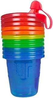 The First Years Take & Toss Spill-Proof Sippy Cups - 7 Oz, 6 Pack