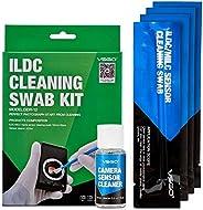 VSGO 传感器清洁器和清洁相机DDR-12 12 Swabs 绿色
