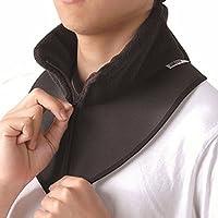 BSTD 百傲鲨 日本保暖护颈带颈椎脖子保暖套脖 空调屋防寒护颈椎 柔软舒适时尚 黑色