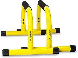 Lebert 健身倒立台俯卧撑台 – 非常适合家庭和车库健身房锻炼设备 – 体操、酸痛、力量训练平行杠 适用于男性和女性
