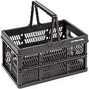 【Amazon.co.jp 限定】CAPTAIN STAG折叠 集装箱 货架 折叠 便携 集装箱 带手柄 L码