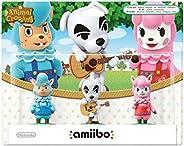 Amiibo 动物穿越包 3 件装(红色+K.K 滑块+青色) 多种颜色