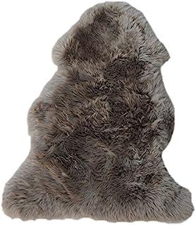 RÖKÜ/OTTO 装饰毛皮,羊皮,蘑菇,110 x 67厘米,5件