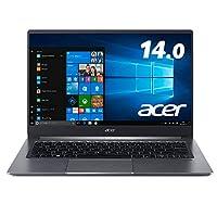 Acer筆記本電腦 Swift 1 SF114-32-A14Q/S Celeron N4020 4GB 128GB SSD 無驅動器 14.0型 Windows 10 Home