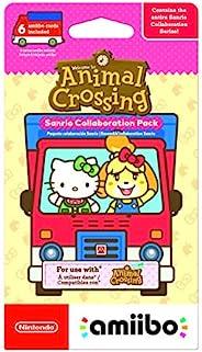 Nintendo 任天堂 Amiibo Animal Crossing New Horizon 三丽鸥**套装 - 6 张卡片