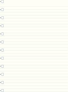 filofax 斐来仕 NOTEBOOK A4系列 商务记事本内页内芯纸(横线)