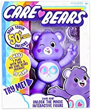 New 2020 Care Bears – 5英寸互动玩偶 – 欢呼熊 – Your Touch 可解锁 50+ 反应和惊喜! Share Bear