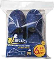NEW厚底拖鞋 藏青色 L