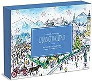 Michael Storrings 12 Days of Christmas Advent Puzzle Calendar