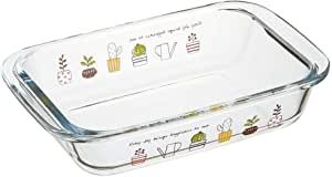Skater 耐热玻璃 碟子 烤箱 微波炉适用 700毫升 厨房花园 GCD1