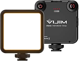 Ulanzi VIJIM VL81 双色迷你 LED 灯,适用于智能手机和相机,可调节色温 3200K-5500K 和 3000mAh 电池