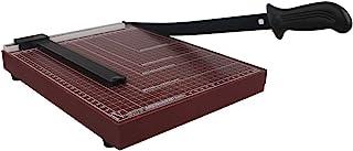 纸切割机,纸剪,带*装置,用于标准切割A4 A5纸张、照片或标签-红色