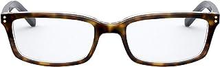 VOGUE 女式 VY2003 矩形*眼镜框,哈瓦那/演示镜片,47 毫米